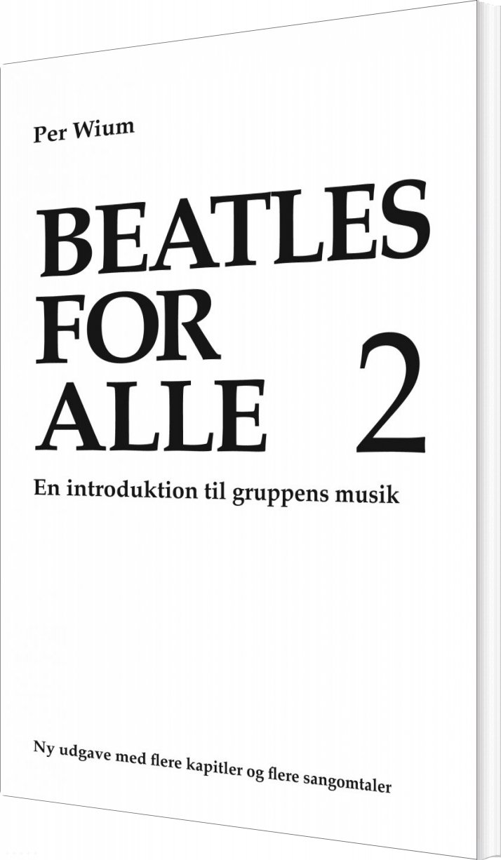 Image of   Beatles For Alle 2 - Per Wium - Bog