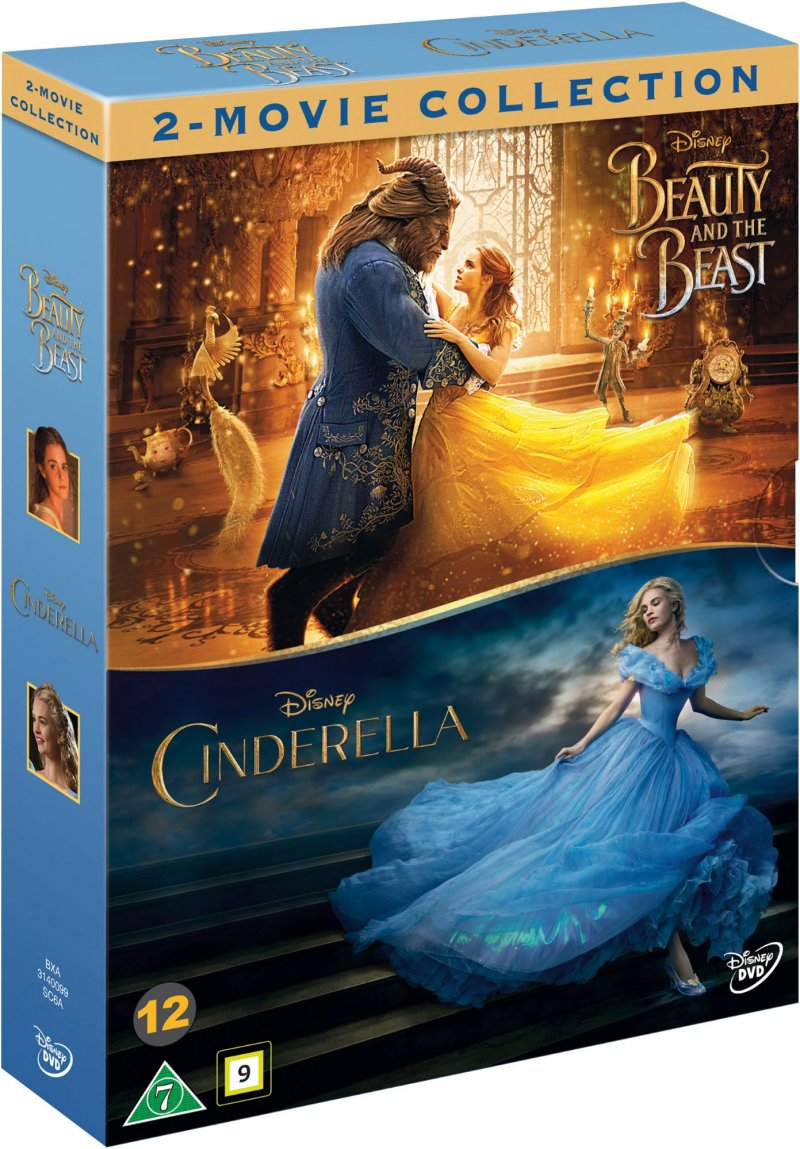 Image of   Beauty And The Beast // Cinderella - DVD - Film