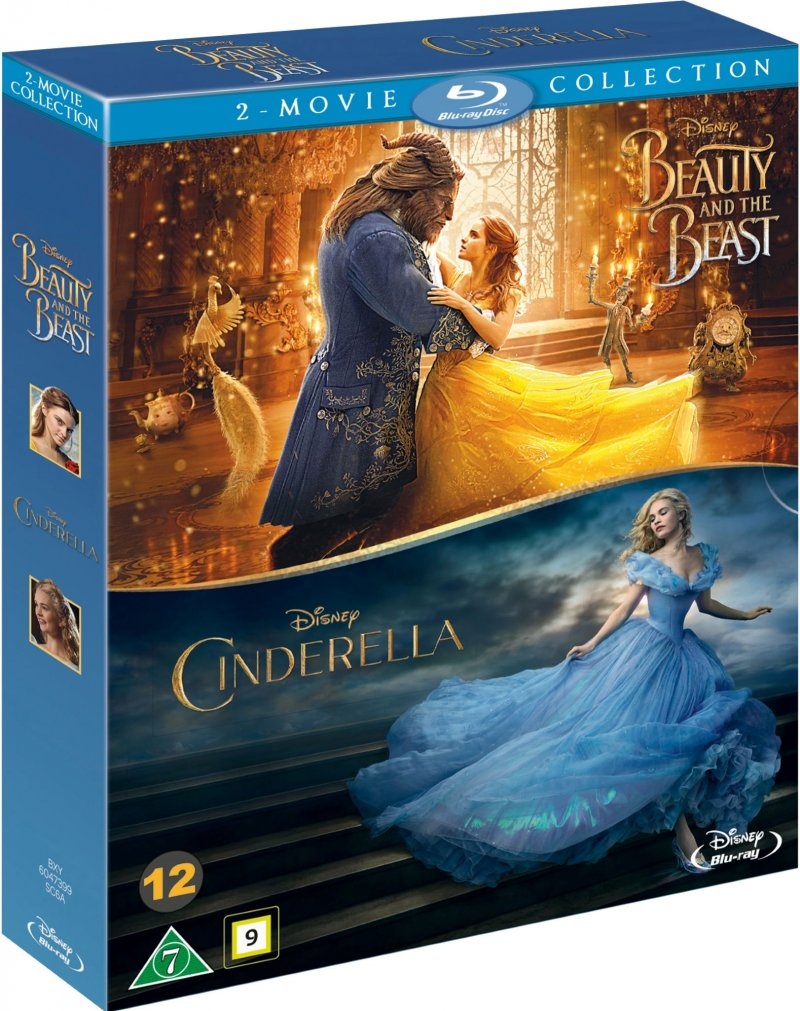 Image of   Beauty And The Beast // Cinderella - Blu-Ray