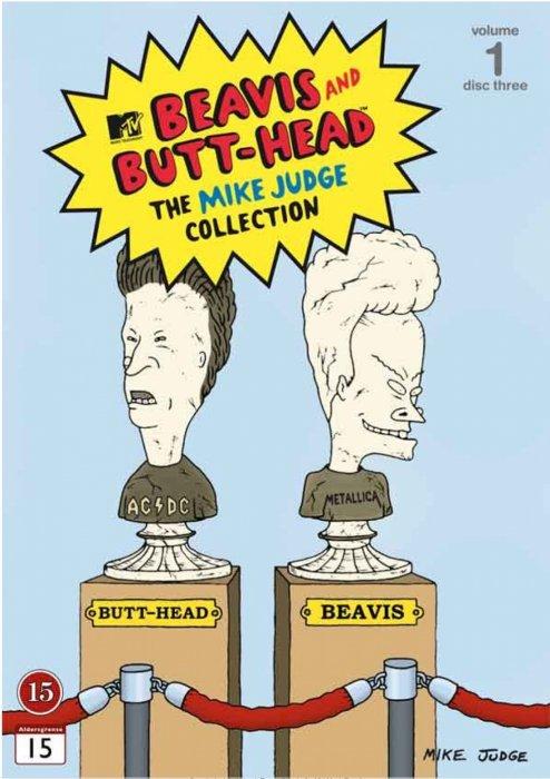 Image of   Beavis And Butthead - Volume 1 - Boks 3 - DVD - Tv-serie