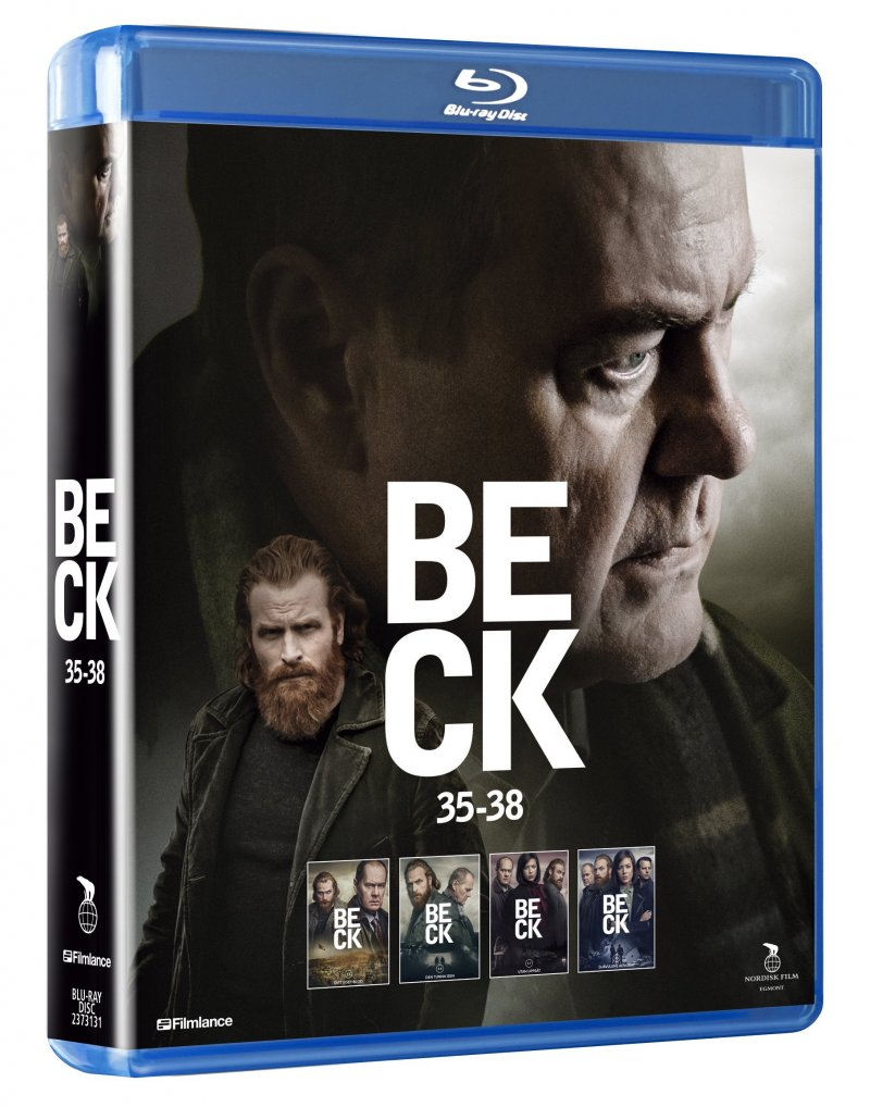 Image of   Beck - Sæson 7 - Episode 35-38 - Blu-Ray - Tv-serie