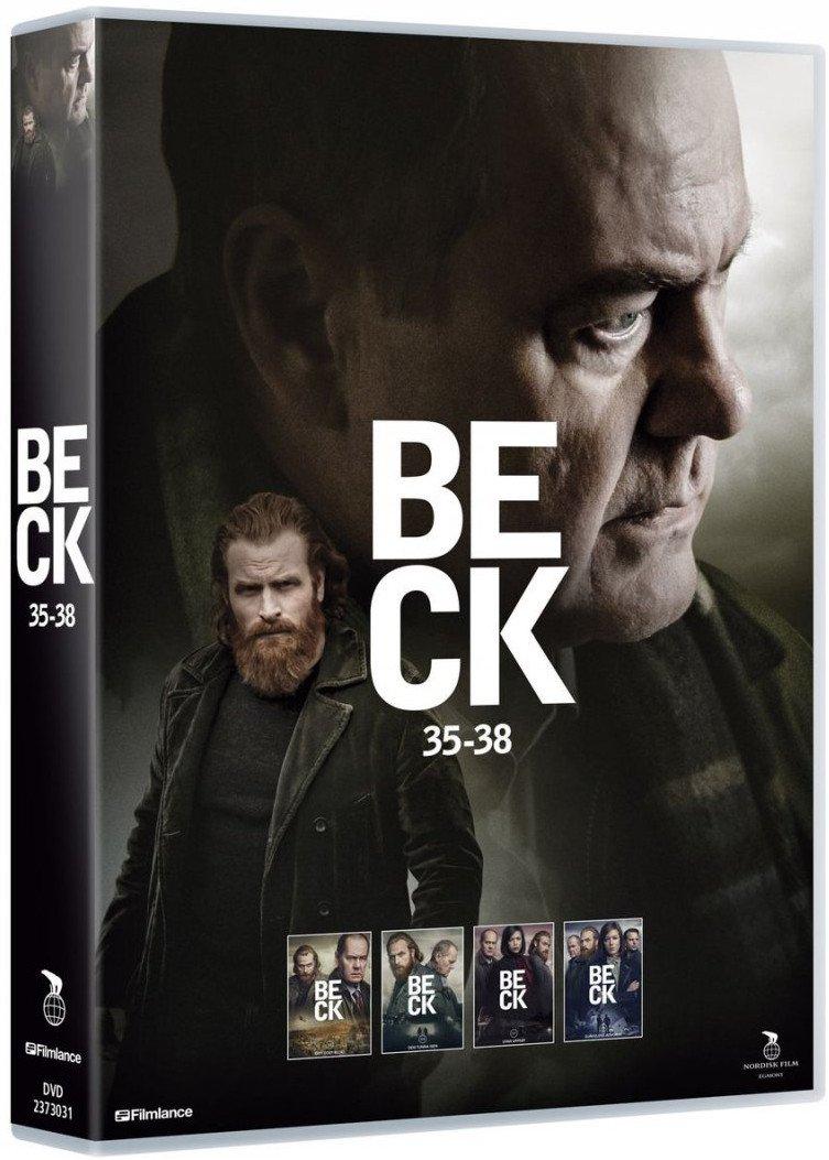 Image of   Beck - Sæson 7 - Episode 35-38 - DVD - Tv-serie