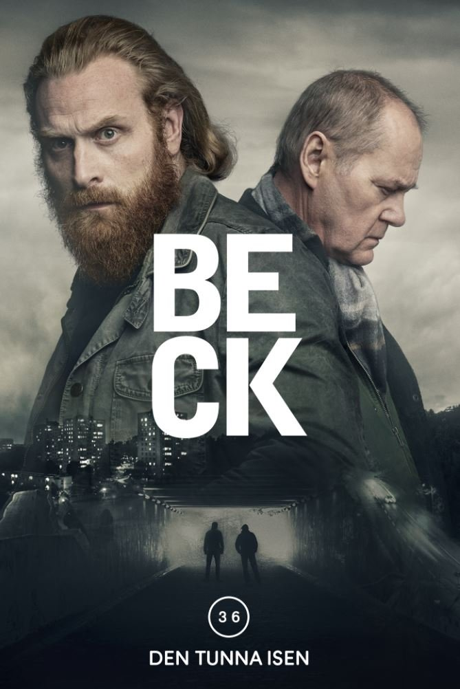 Image of   Beck 36 - Den Tunna Isen - DVD - Tv-serie