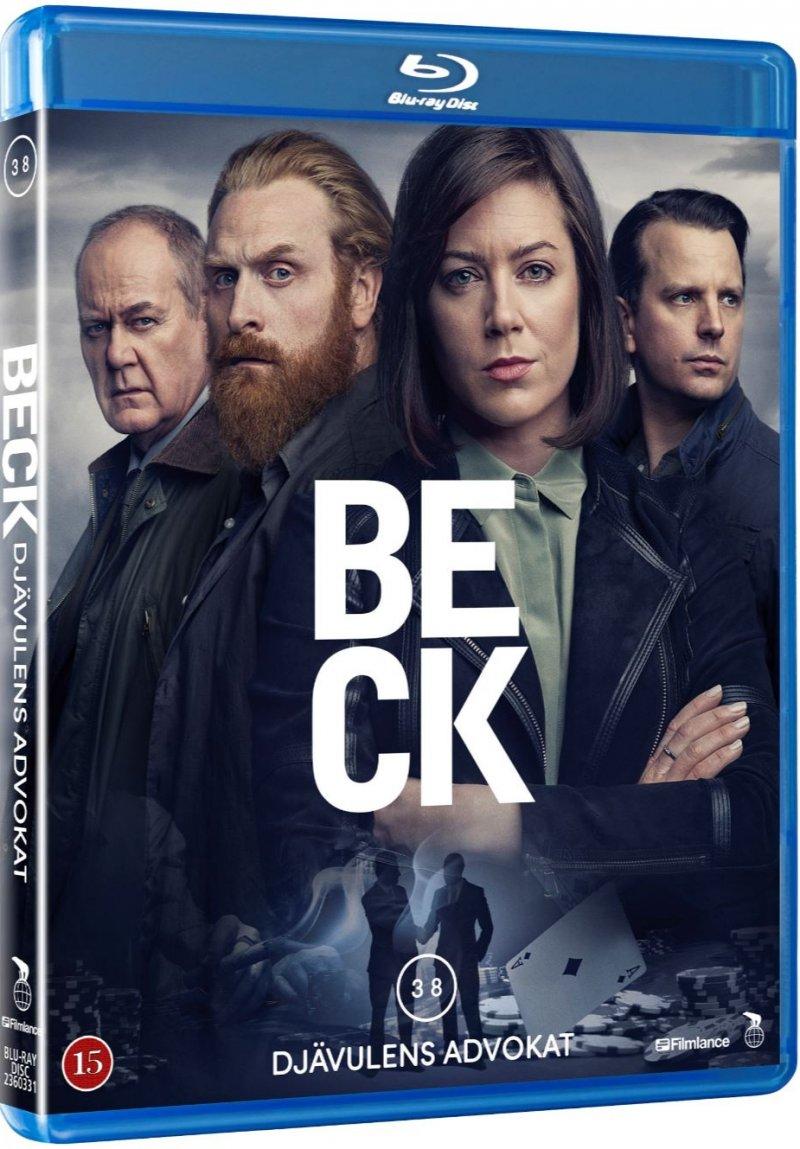 Image of   Beck 38 - Djävulens Advokat - Blu-Ray
