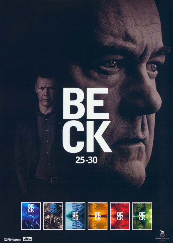Image of   Beck Box 7 - Afsnit 25-30 - DVD - Tv-serie