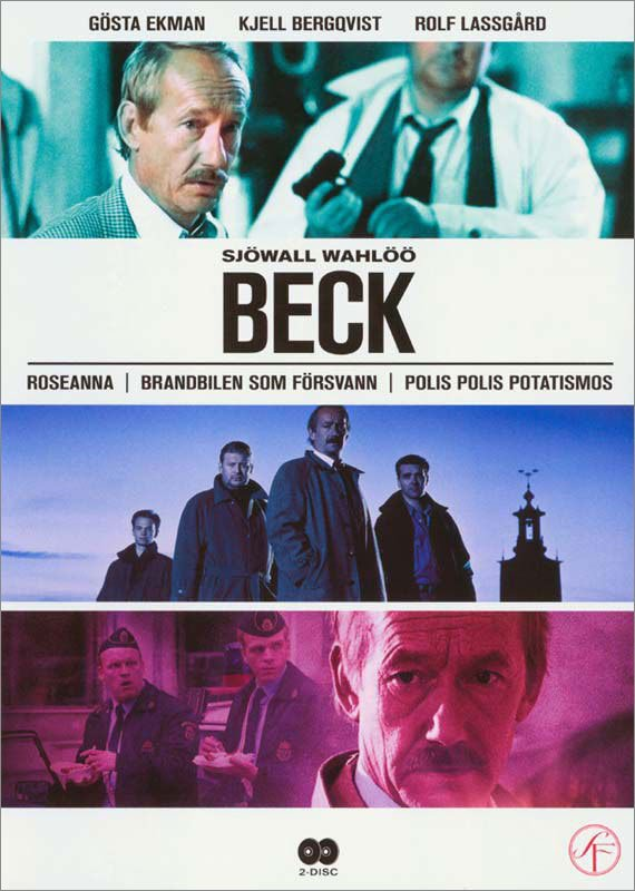 Image of   Beck - Volume 1: Beck 1-3 - DVD - Tv-serie