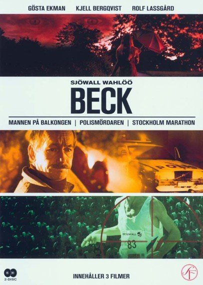 Image of   Beck - Volume 2: Beck 4-6 - DVD - Tv-serie