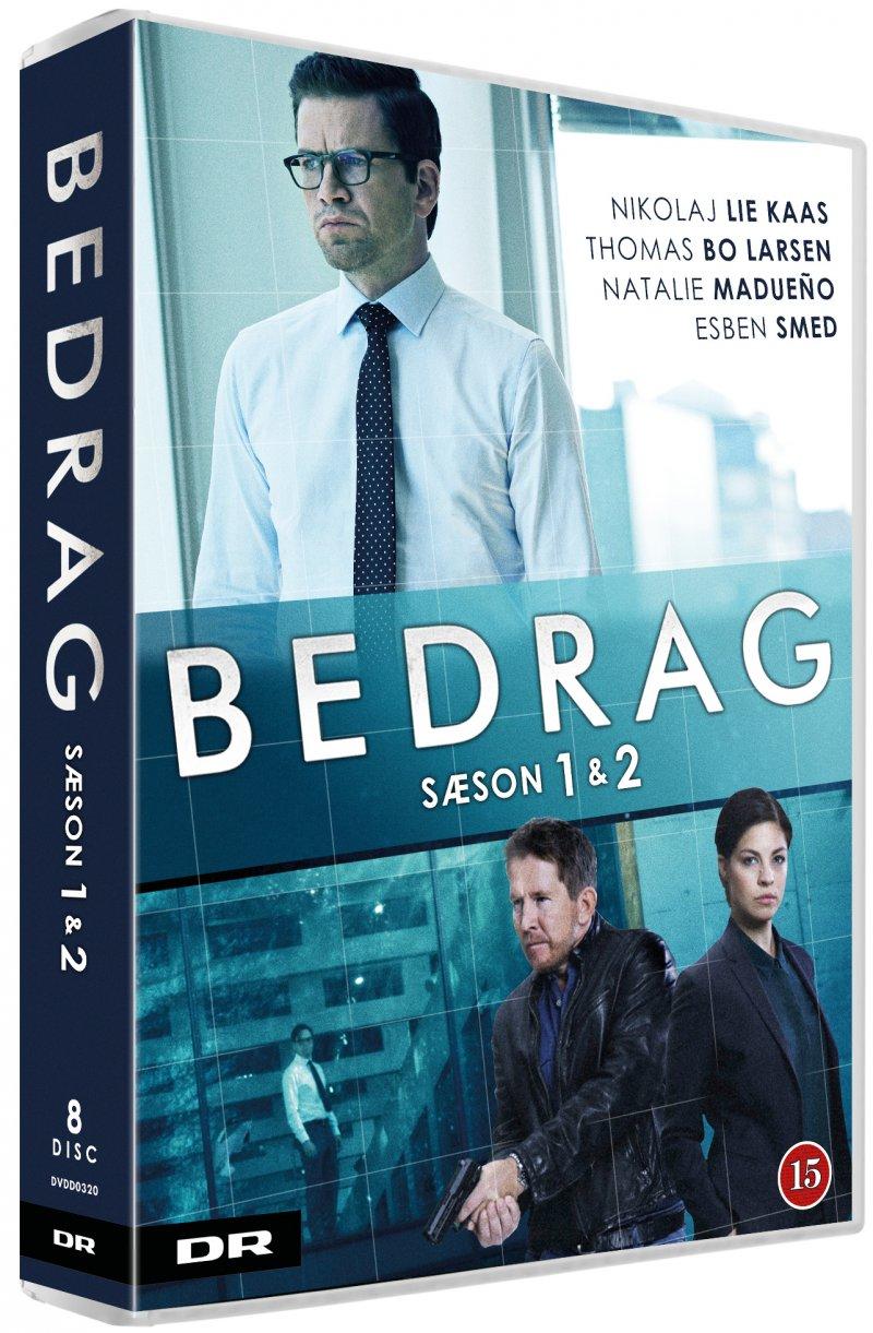 Image of   Bedrag - Sæson 1+2 - Dr - DVD - Tv-serie