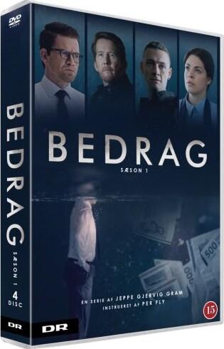 Image of   Bedrag - Sæson 1 - Dr - DVD - Tv-serie