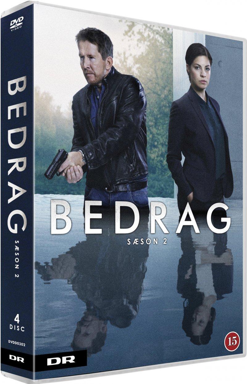 Image of   Bedrag - Sæson 2 - Dr - DVD - Tv-serie
