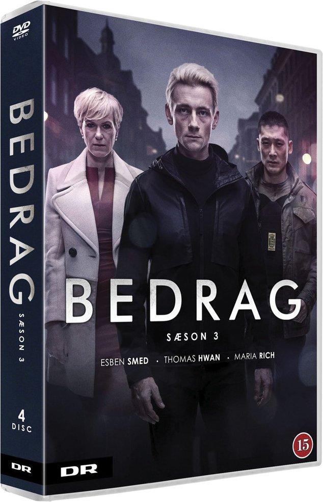 Image of   Bedrag - Sæson 3 - DVD - Tv-serie