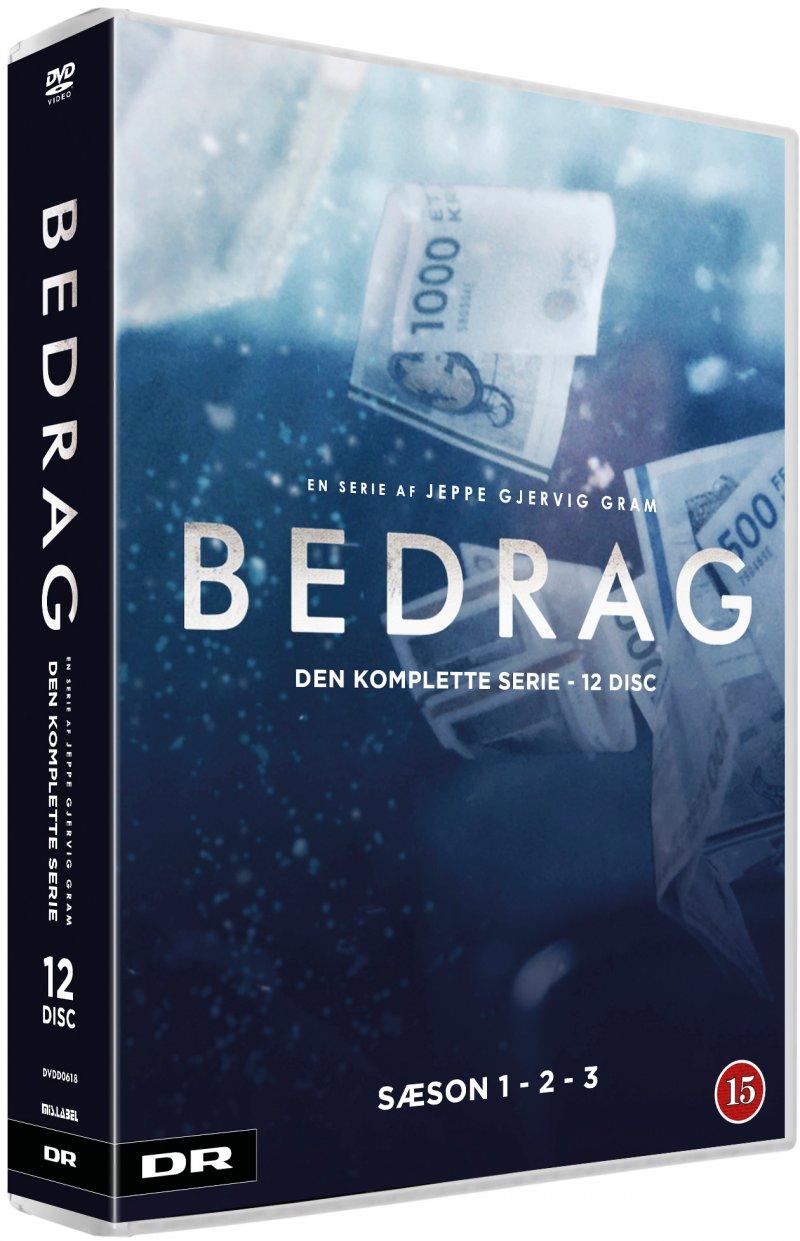 Image of   Bedrag - Komplet Box - Sæson 1-3 - DVD - Tv-serie