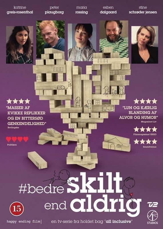 Image of   Bedre Skilt End Aldrig - Tv2 - DVD - Tv-serie