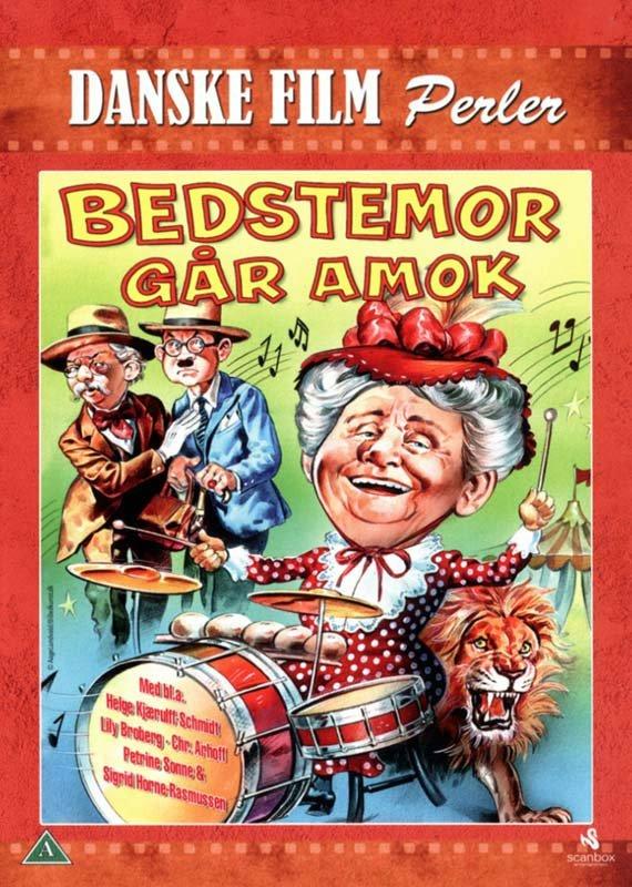 Image of   Bedstemor Går Amok - DVD - Film