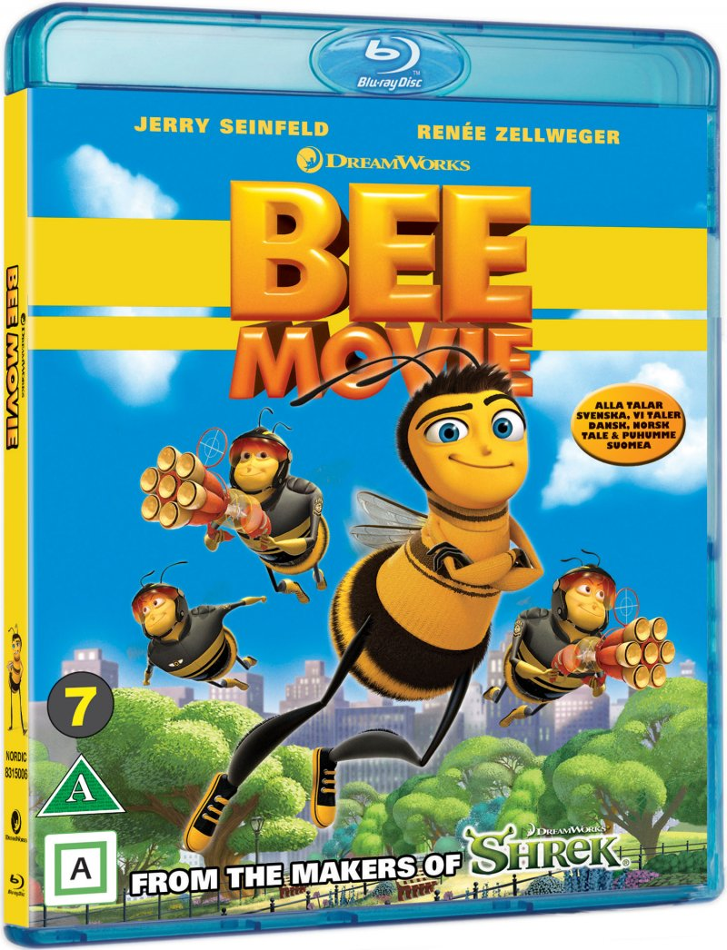 Image of   Bee Movie - Det Store Honningkomplot - Blu-Ray