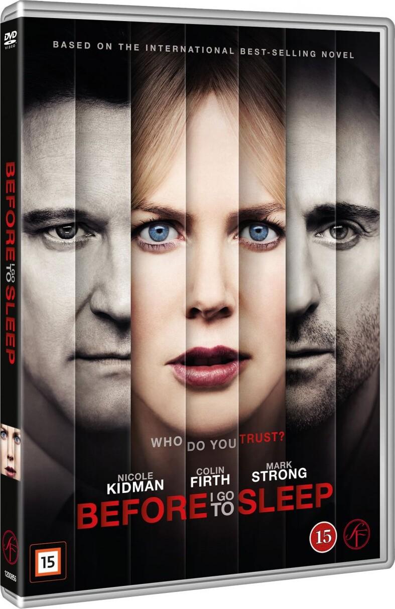 Image of   Before I Go To Sleep - DVD - Film