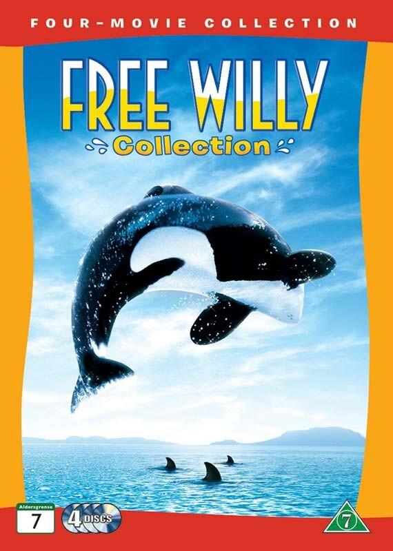 Billede af Free Willy Collection 1-4 / Befri Willy Samling 1-4 - DVD - Film