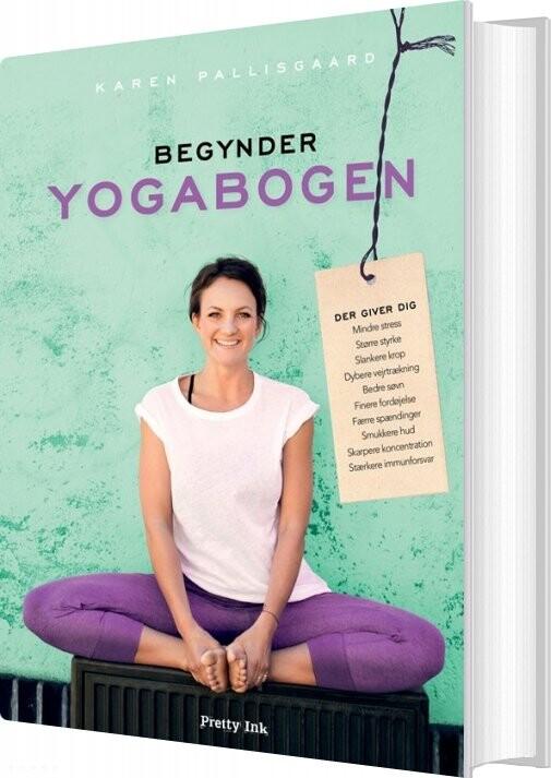 Image of Begynderyogabogen - Karen Pallisgaard - Bog