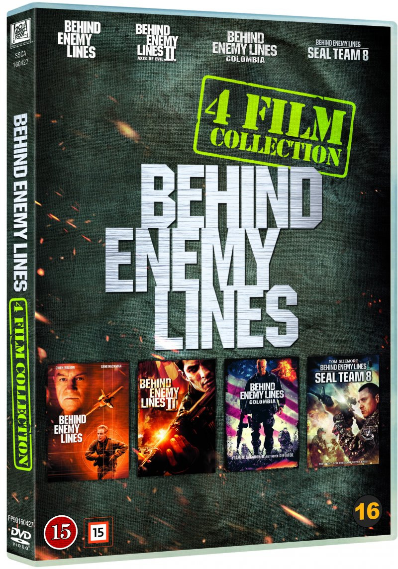 Image of   Behind Enemy Lines 1-4 - DVD - Film