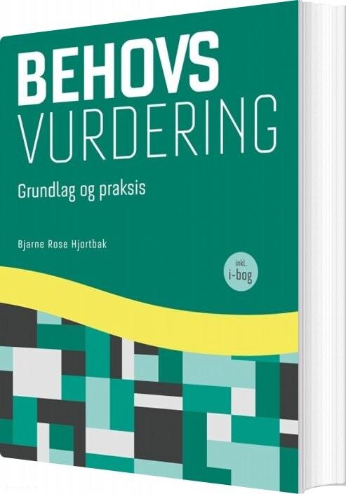 Image of   Behovsvurdering - Bjarne Rose Hjortbak - Bog