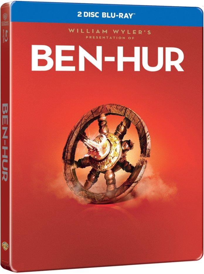 Image of   Ben-hur - 1959 - Steelbook - Blu-Ray