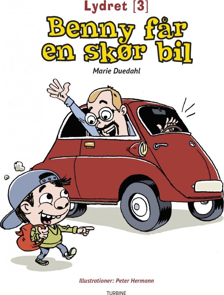 Image of   Benny Får En Skør Bil - Marie Duedahl - Bog