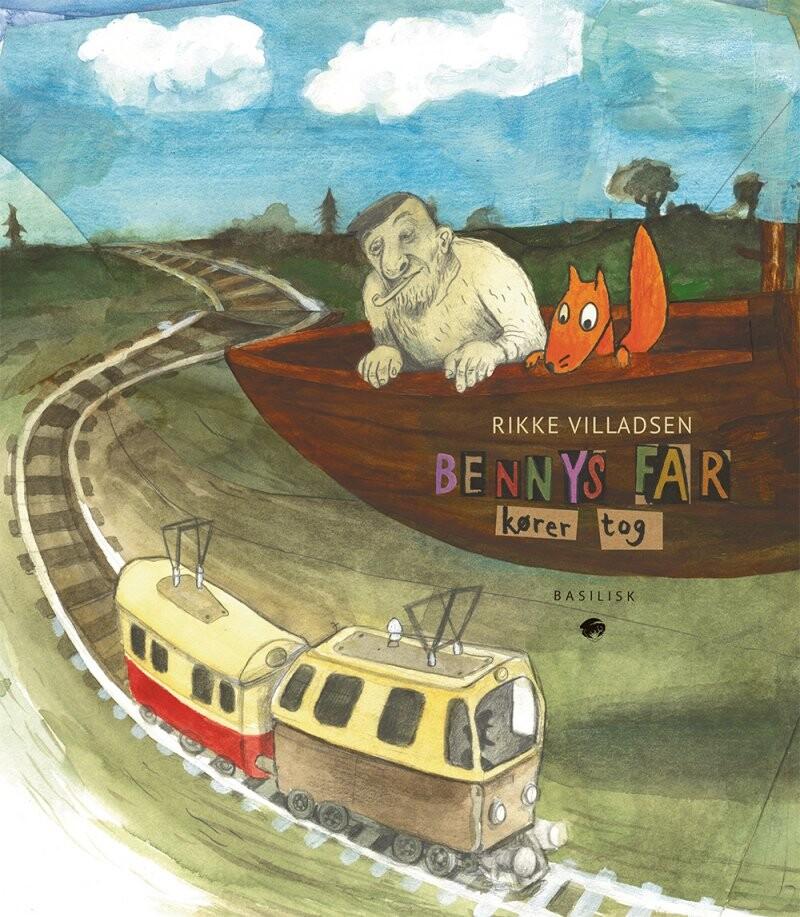 Image of   Bennys Far Kører Tog - Rikke Villadsen - Bog