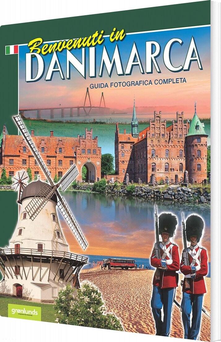 Image of   Benvenuti In Danimarca - Italiensk 2020 - Grønlund - Bog