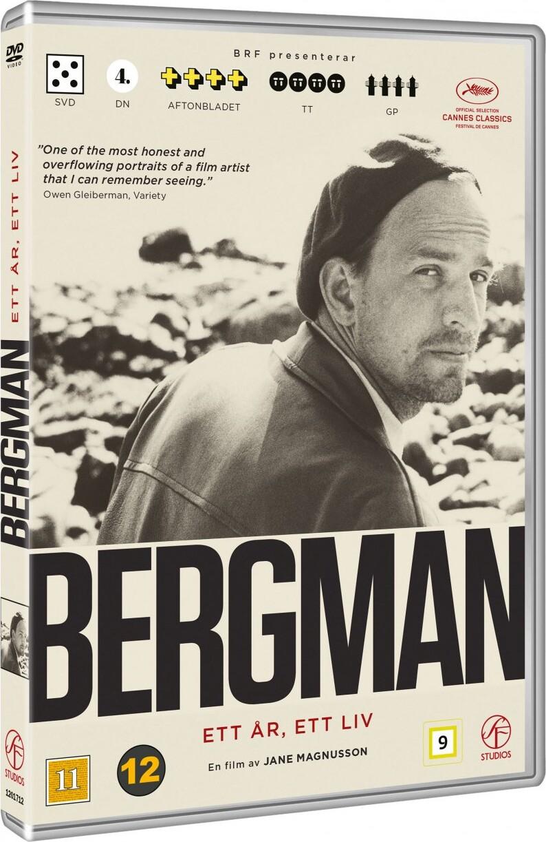 Image of   Bergman - Et år Et Liv - DVD - Film