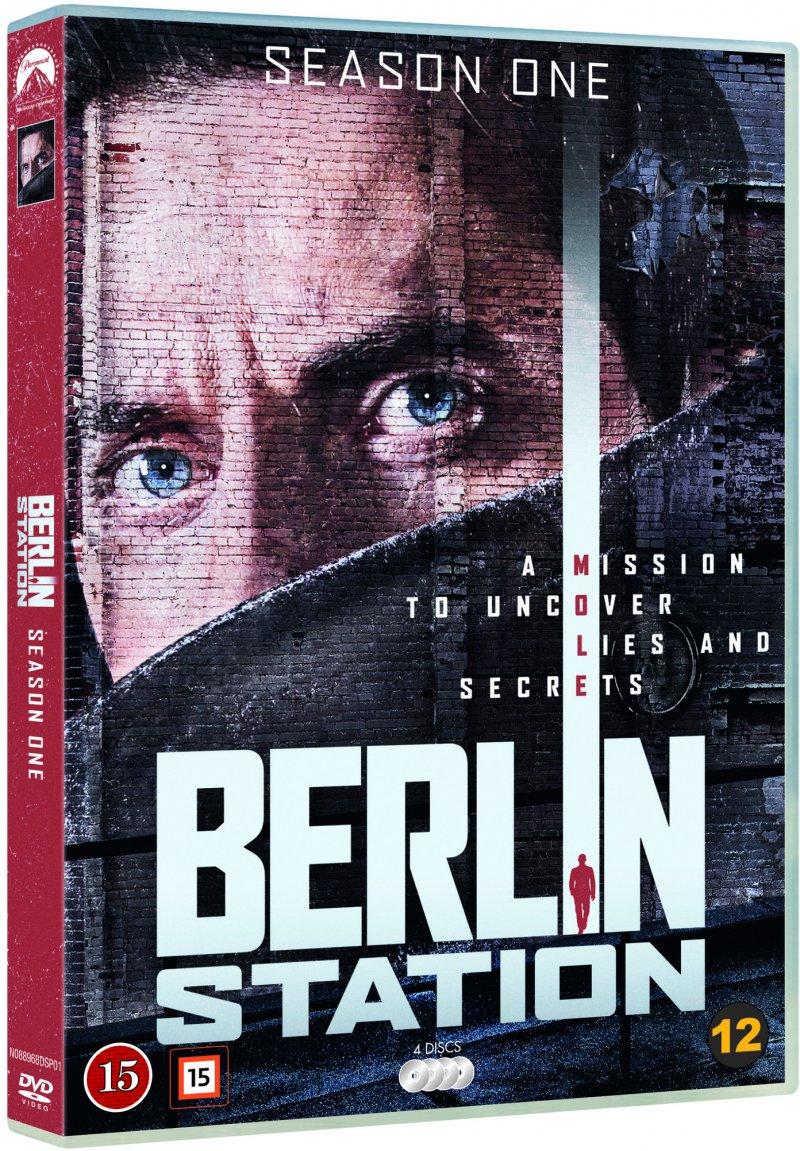 Image of   Berlin Station - Sæson 1 - DVD - Tv-serie