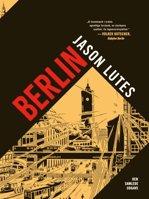 Image of   Berlin - Jason Lutes - Tegneserie