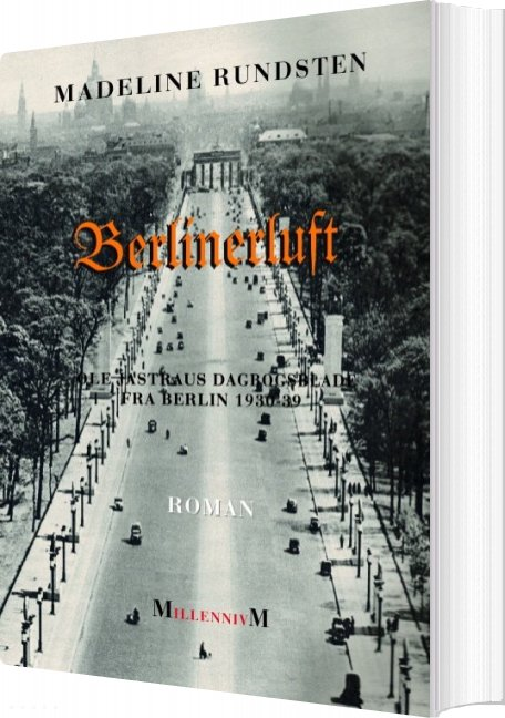 Billede af Berlinerluft - Madeline Rundsten - Bog