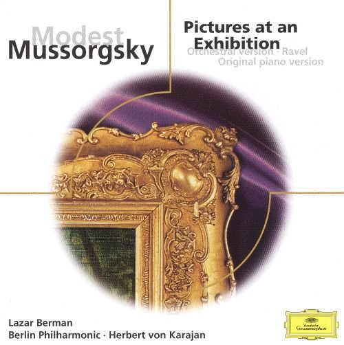 Image of   Berman Lazar - Mussorgsky: Pictures At An Exhi - CD