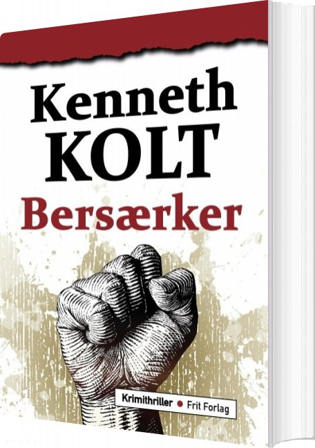 Image of   Bersærker - Kenneth Kolt - Bog