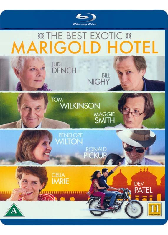 Image of   Best Exotic Marigold Hotel - Blu-Ray