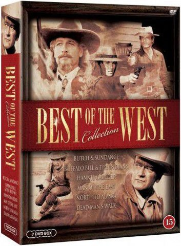 Image of   Best Of The West Collection - DVD - Film