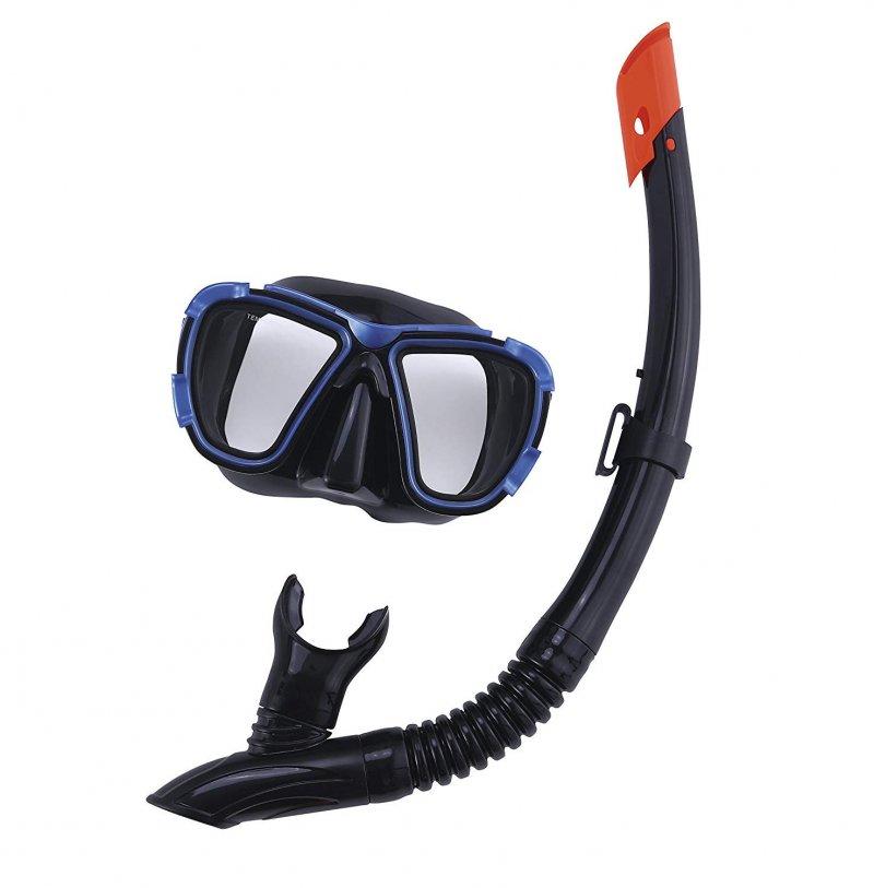 12c8a3f70 Bestway - Hydro-pro Svømmebriller Og Snorkel Sæt Til Voksne - Blå ...