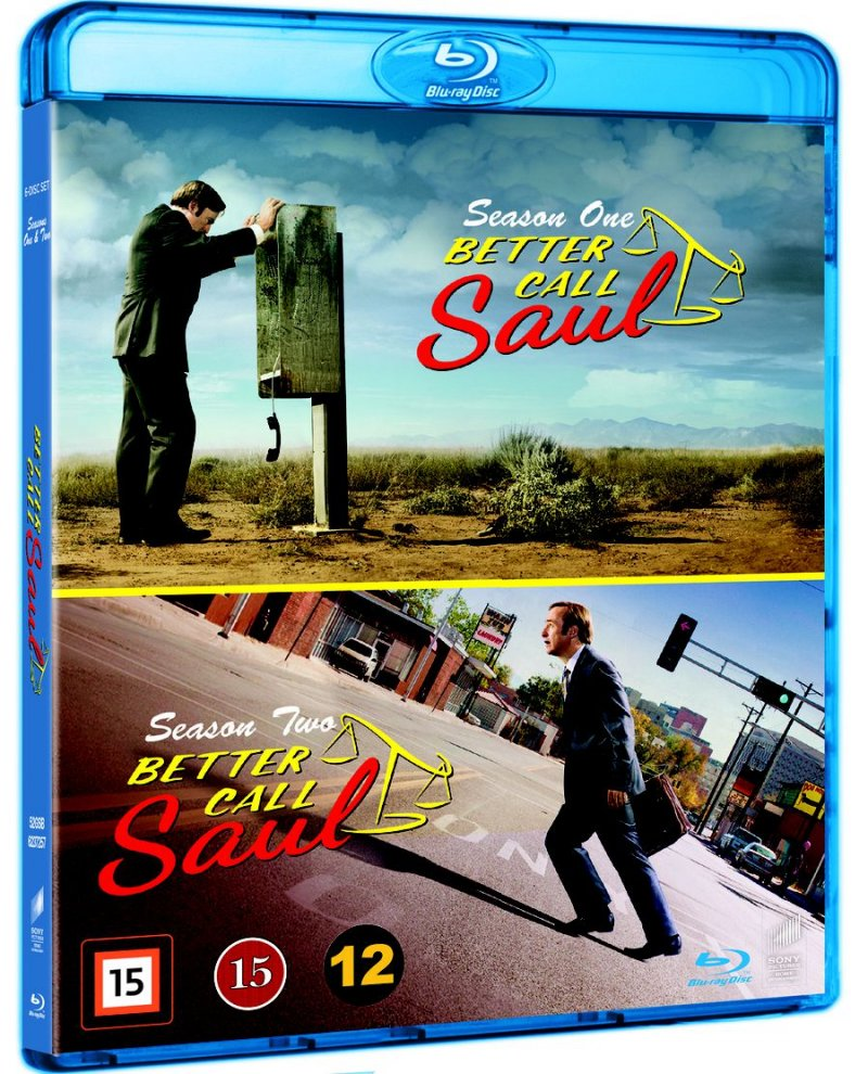 Better Call Saul - Sæson 1+2 - Blu-Ray - Tv-serie