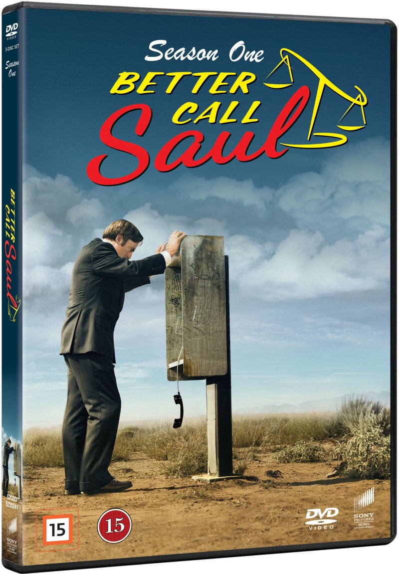Image of   Better Call Saul - Sæson 1 - DVD - Tv-serie