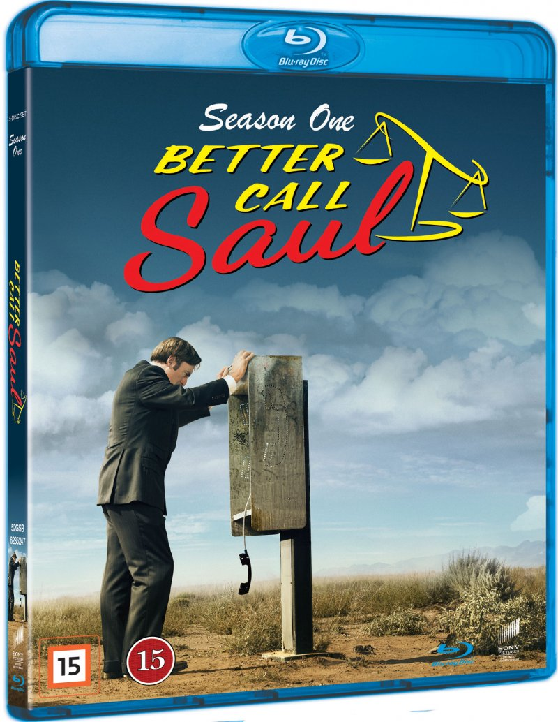 Image of   Better Call Saul - Sæson 1 - Blu-Ray - Tv-serie