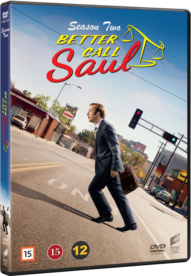 Image of   Better Call Saul - Sæson 2 - DVD - Tv-serie