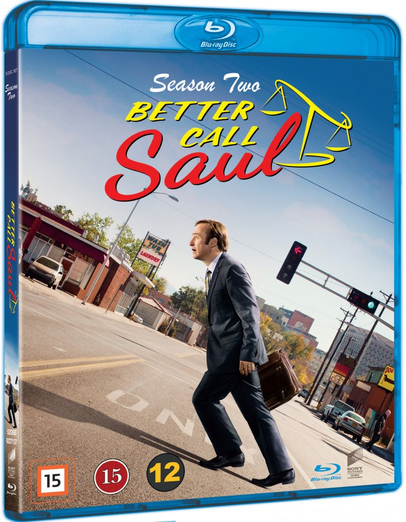 Image of   Better Call Saul - Sæson 2 - Blu-Ray - Tv-serie