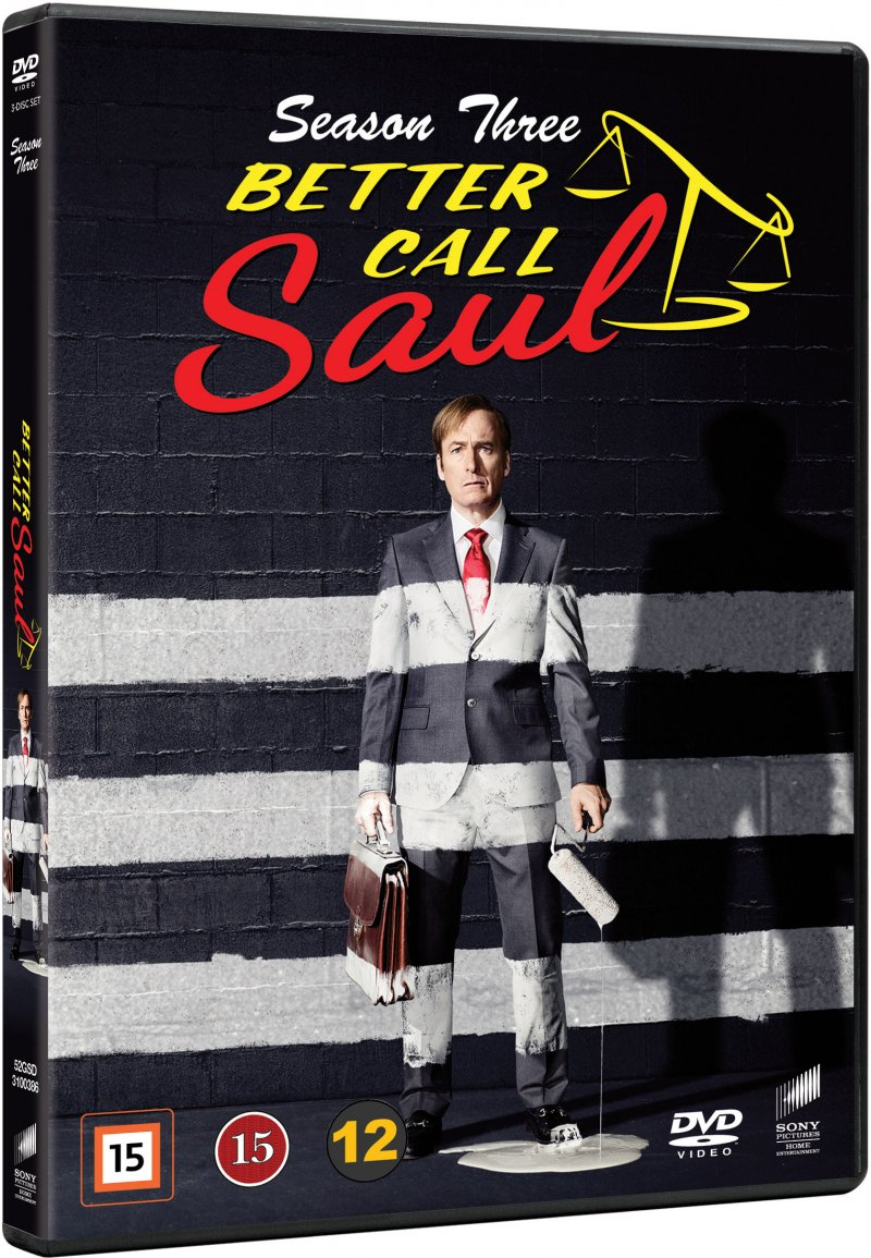 Image of   Better Call Saul - Sæson 3 - DVD - Tv-serie