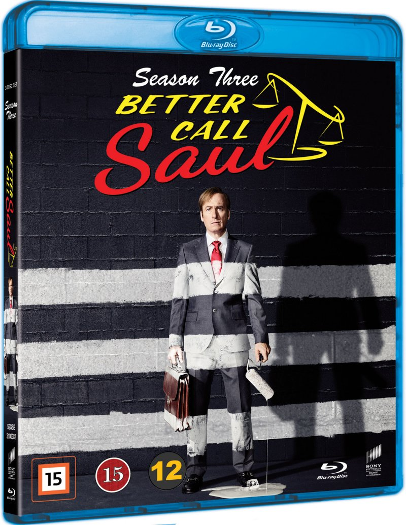 Image of   Better Call Saul - Sæson 3 - Blu-Ray - Tv-serie