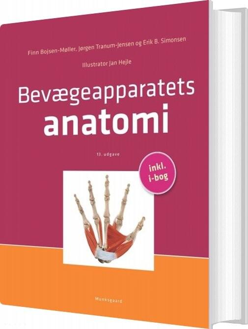 Image of   Bevægeapparatets Anatomi - Finn Bojsen-møller - Bog