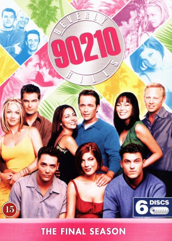 Image of   Beverly Hills 90210 - Sæson 10 - DVD - Tv-serie