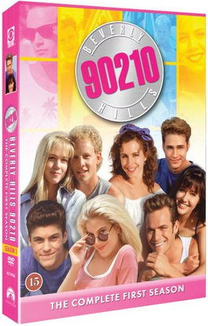 Image of   Beverly Hills 90210 - Sæson 1 - DVD - Tv-serie