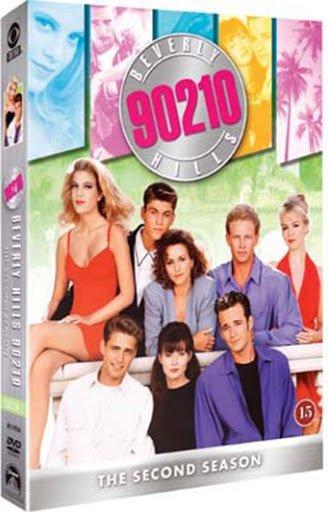 Image of   Beverly Hills 90210 - Sæson 2 - DVD - Tv-serie