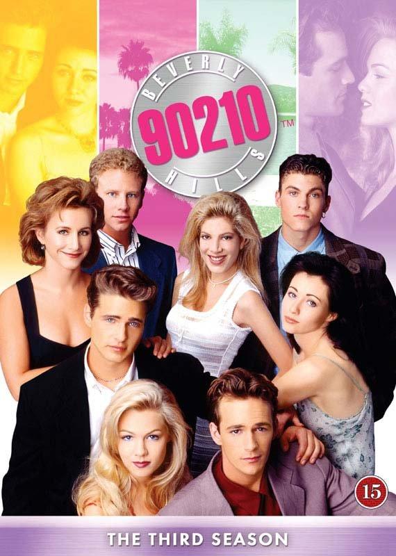 Image of   Beverly Hills 90210 - Sæson 3 - DVD - Tv-serie