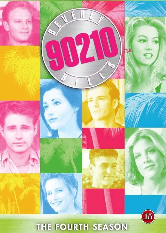 Image of   Beverly Hills 90210 - Sæson 4 - DVD - Tv-serie